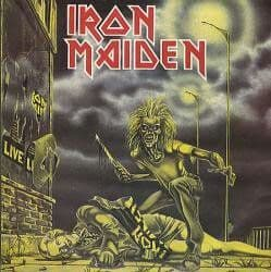 portada iron maiden- rock