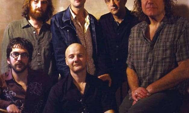 Robert Plant and the Strange Sensations. Live.
