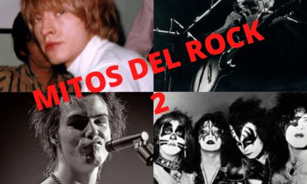 Los mejores mitos del Rock and Roll 2