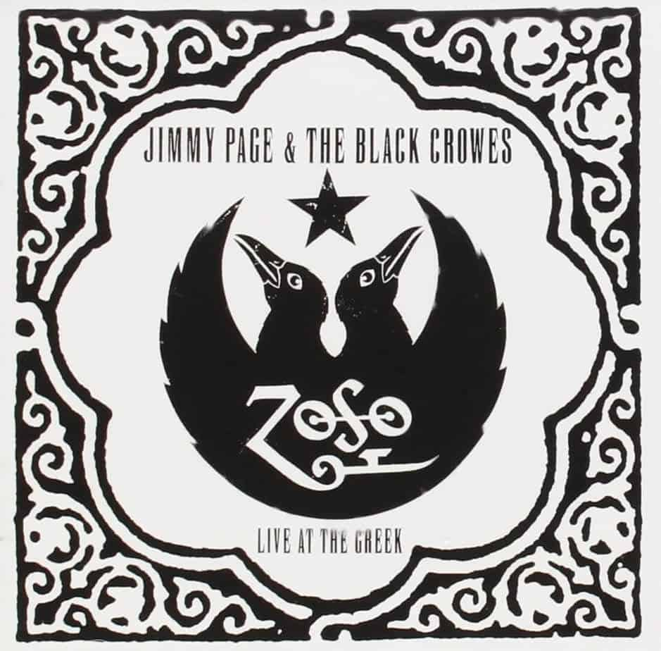 live at the greek black crowes jimmy page